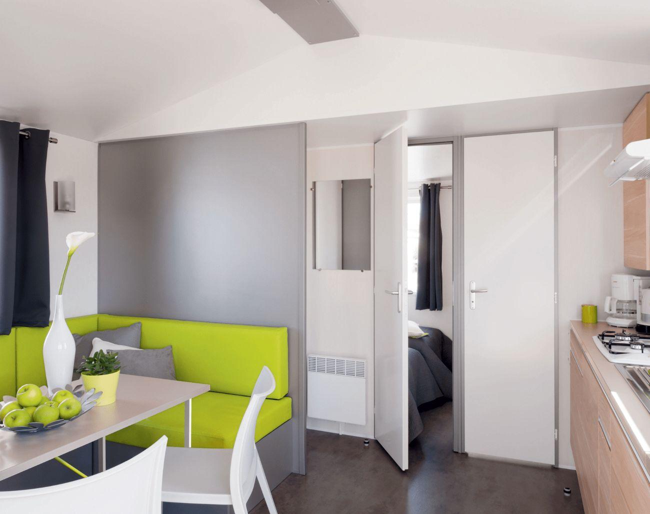 Mobil-homes Beach 1 - 2 chambres - Azur Beach