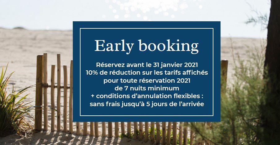 Early booking Azur Beach réservez avant le 31 janvier 2021